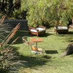 Jardín para relajarse y descansar