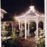 Front Gazebo at night