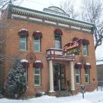 Snowy day at the Rochester Hotel