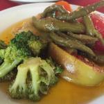 Escabeche de verduras (entrada).