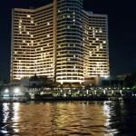 Night view from river.