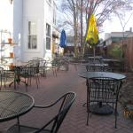Patio at Penn Taproom
