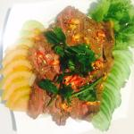 Cambodian beef BBQ