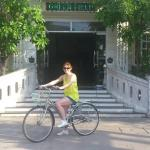 Bike hire from Greenfields Hotel front reception