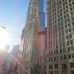 Magnificent Mile only one block away