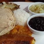 Casado: costa rican lunch