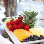 Holiday Inn Banquet Fruit Display