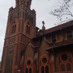 Fora da catedral