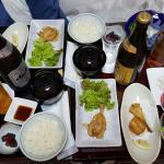 Room service of best blowfish in Japan