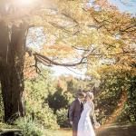 Wedding couples at the Henderson Castle wedding ground