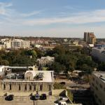 View of the Alamo from our 9th floor room