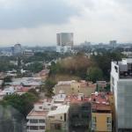 La ciudad desde la habitación