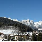 Hotel Catinaccio Rosengarten e panorama