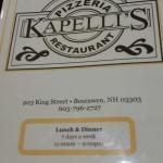 Kapelli's Restaurant