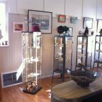A wide and eclectic range of art, crafts and gifts, all produced locally by Huon Valley artisans
