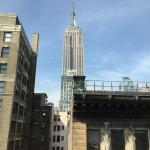 view of Empire State Building