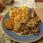 My Breakfast from Buffet at Novotel Ieper Centrum