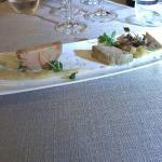 Entrée : foie gras