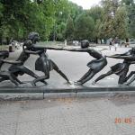 Скульптура в парке Борисова Градина