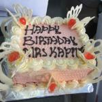 complimentary birthday cake for my colleague
