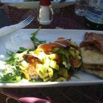 Christo con salmon y avocado