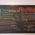 The new menu, circa Dec 2015