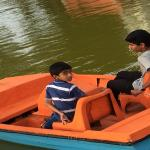 Kids with Boat