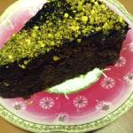 Lavender Chocolate Cake