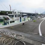 漁港と東名高速