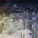Blick der Zerstörung