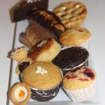 cakes, muffin and pies