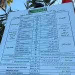 Price list of Rabat ZOO