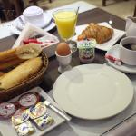 Hotel Amouday breakfast
