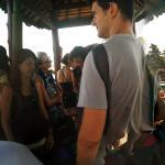 Waiting for 4 hrs for the Ekajaya fast boat