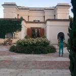 Retro della villa