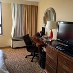 Image of old Marriott furniture and desk