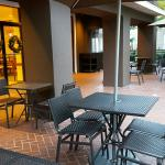 Outside patio dining.
