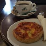 My Quiche at Coffee Break