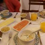 Desayuno hogareño