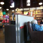 inside Pittsford Starbucks