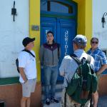 Marcelo briefed our group on the history of Caminito Street in La Boca District, Buenos Aires