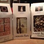 Michael has been busy making his fabulous homemade chocolates!! Almond butter crunch, peppermint