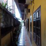 corridoio alle camere