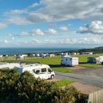 Damage Barton sea views from campsite