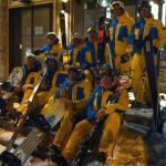 Equipe des moniteurs UCPA Val D'Isère