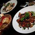 Burwitz und Caesar Salat