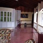 Common balcony area upstairs