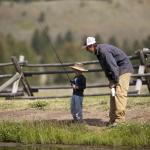 Learning to Fly Fish on our Stocked Pond