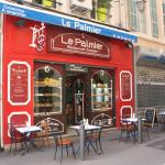 La devanture du restaurant Le Palmier.