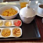 Das Frühstück - Ein Beispiel von der Auswahlliste